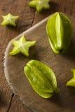 Raw Organic Star Fruit Stock Photo