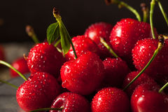 Raw Organic Strawberry Cherries. Ready to Eat Stock Images
