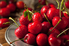 Raw Organic Strawberry Cherries. Ready to Eat Stock Photos