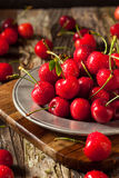 Raw Organic Strawberry Cherries. Ready to Eat Stock Photo