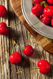 Raw Organic Strawberry Cherries. Ready to Eat Royalty Free Stock Image