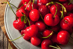 Raw Organic Strawberry Cherries. Ready to Eat Royalty Free Stock Photo
