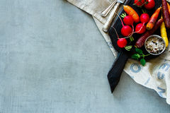 Raw organic vegetables Stock Image