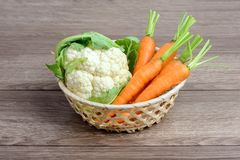 Raw organic vegetables Stock Photography