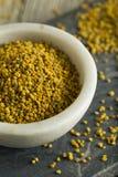 Raw Organic Yellow Bee Pollen Royalty Free Stock Photography