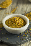 Raw Organic Yellow Bee Pollen Royalty Free Stock Images