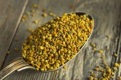 Raw Organic Yellow Bee Pollen Royalty Free Stock Photos