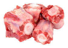 Raw Oxtail Bones Royalty Free Stock Images