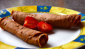 Raw pancakes Stock Photos