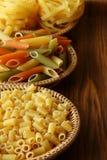 Raw pasta Royalty Free Stock Image