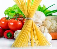 Raw pasta Royalty Free Stock Photo