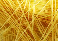 Raw pasta as whole background stock images