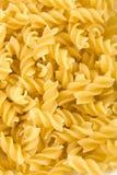 Raw pasta background Royalty Free Stock Photos