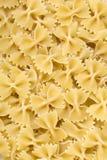 Raw pasta background Stock Photography