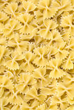 Raw pasta background Royalty Free Stock Photography