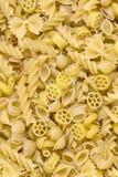 Raw pasta background Stock Image