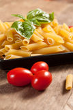 Raw pasta. Stock Images