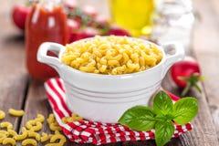 Raw pasta Stock Images