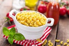 Raw pasta Royalty Free Stock Photo