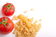 Raw pasta Royalty Free Stock Photos
