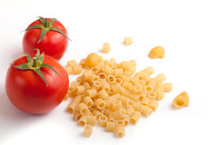 Raw pasta Stock Images