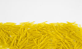 Raw pasta Royalty Free Stock Image