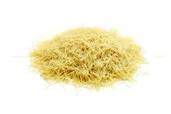 Raw pasta close-up Stock Image