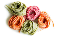 Raw pasta Royalty Free Stock Images