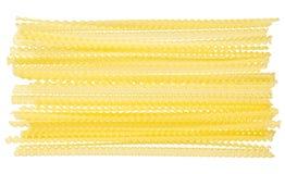 Raw pasta, food ingredient Stock Image