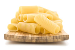 Raw pasta isolated Royalty Free Stock Photo