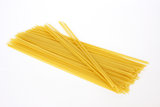 Raw pasta, linguine Stock Photos