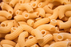 Raw pasta macaroni Royalty Free Stock Image