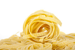 Raw Pasta Nests Royalty Free Stock Images