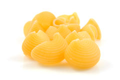 Raw pasta noodles Royalty Free Stock Photo