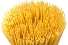 Raw pasta spaghetti macaroni Stock Photography
