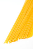 Raw pasta Spaghetti in vertical format Royalty Free Stock Photography