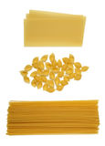 Raw pastas Royalty Free Stock Photography