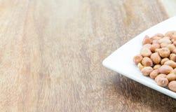 Raw peanuts or arachis Stock Image