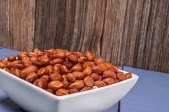 Raw peanuts,hulled,whole Stock Photo