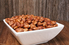 Raw peanuts,hulled,whole Royalty Free Stock Photography