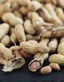 Raw peanuts. Royalty Free Stock Photo