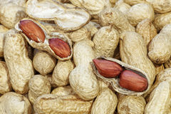 Raw peanuts Stock Images