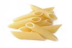 Raw penne macaroni Royalty Free Stock Photo