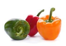 Raw pepper Stock Photo