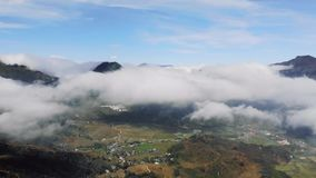 The raw pictures of scenery at Sapa mountain and village, North Vietnam Tourism destination.