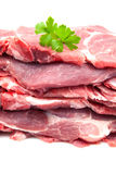 Raw pig meat Royalty Free Stock Photos
