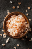Raw Pink Himalayan Sea Salt Royalty Free Stock Photo