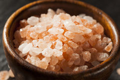 Raw Pink Himalayan Sea Salt Stock Images