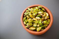 Raw pistachio healthy Snack Stock Photo
