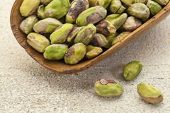 Raw pistachio nuts Royalty Free Stock Image